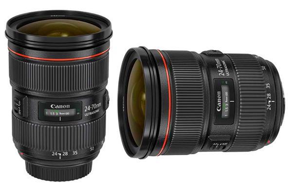 Canon EF 24 70mm f2.8L II USM zoom lens