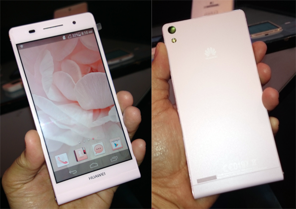 Huawei launches Ascend P6 in pink plus nine new gadgets